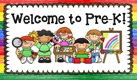 Image result for welcome to prek clipart
